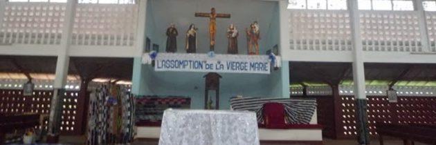 Djébonoua: Hramul bisericii