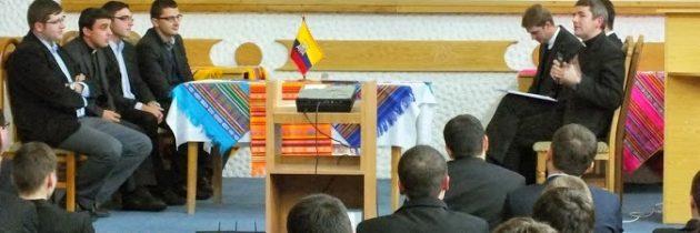 ITRC: Vestitori curajoşi pe străzile lumii: Misionar în Ecuador