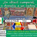 Cadouri de Crăciun pentru copiii din misiuni…